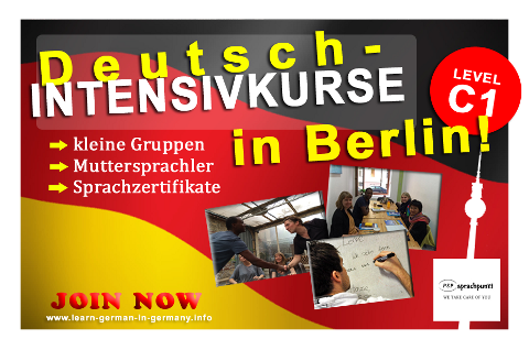 C1 Deutsch-Intensivekurse Berlin